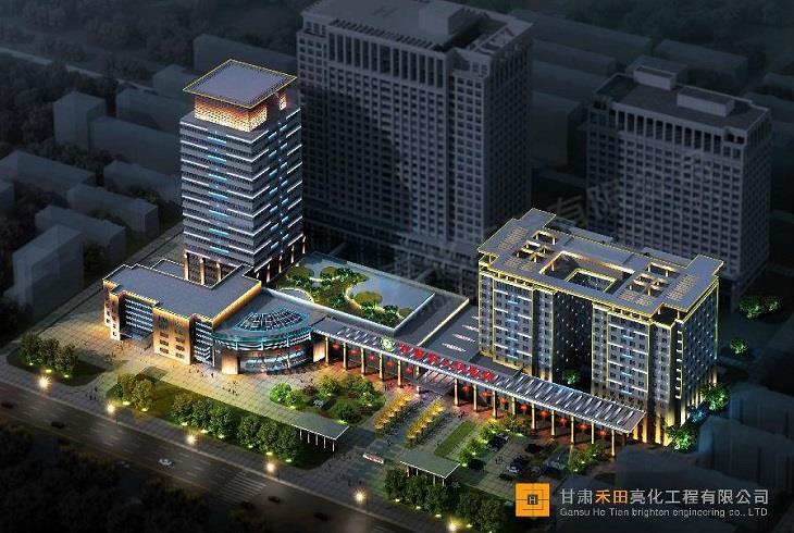 甘肅省人民醫院千億國際app下載工程