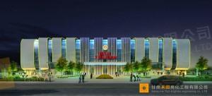 酒泉體育館千億國際app下載工程